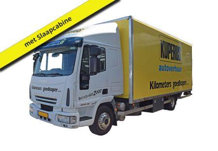 Vrachtwagen huren 40m3 met slaap cabine bij Kuperus Autoverhuur Hilversum
