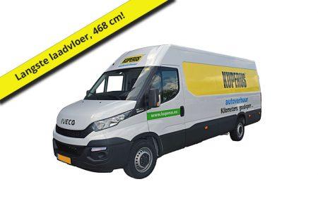Bestelbus 15m3 Extra lang, busje huren, verhuiswagen huren, bestelwagen huren