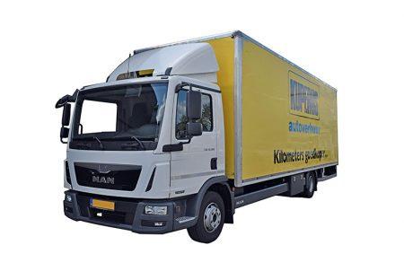Vrachtwagen 45m3 voorzijde