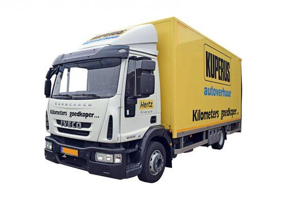 vrachtwagen 35m3 voorzijde