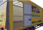 Vrachtwagen 50m3 zijdeur