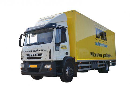 Vrachtwagen 50m3 voorzijde