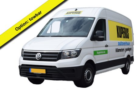 delivery van crafter 12m3 with towbar